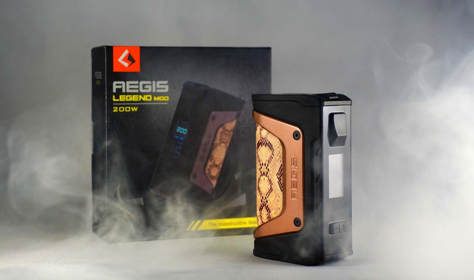 Aegis Geekvape Specs Mod Legend 200w Box Authentic