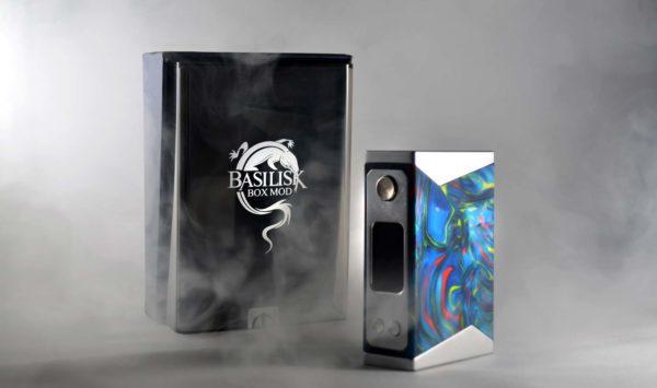 Stentorian Basilisk Box Mod available at Vapeloft MD