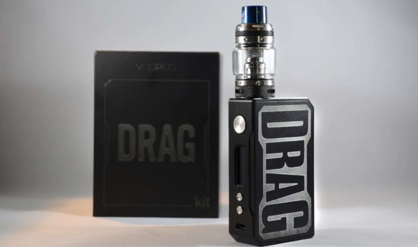 VooPoo Drag Kit - Matte Black Color at VapeLoft MD